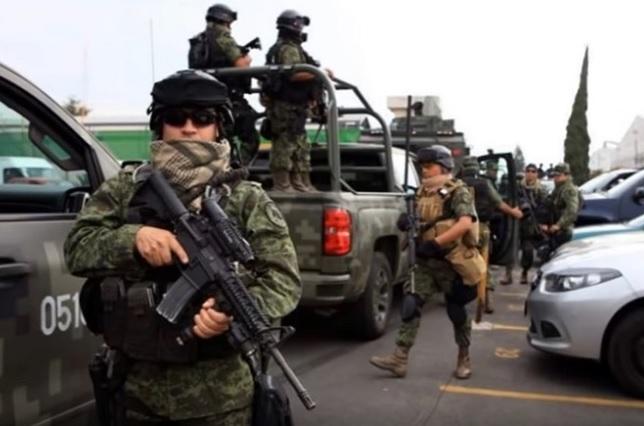 Proponen 60 años de cárcel para militares que se alíen con delincuentes