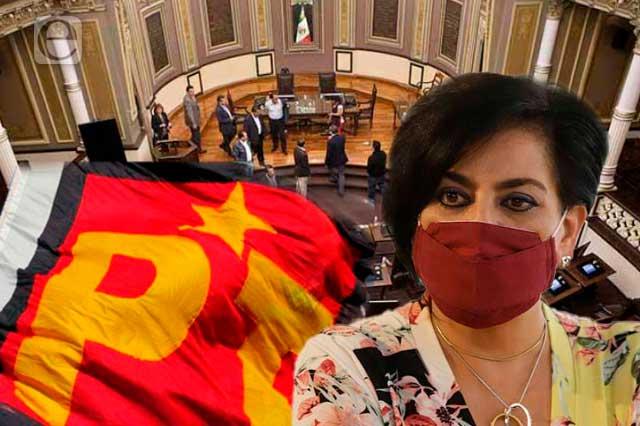 Yamak se queda en Morena y desinfla a PT en el Congreso