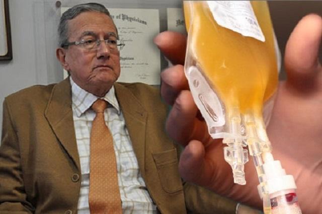 Sí sirve trasplante de plasma contra el Covid: Ruiz Argüelles