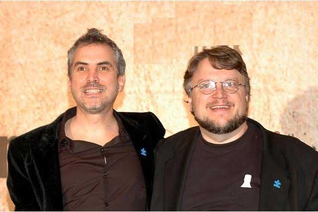 Guillermo del Toro asiste a clase de Alfonso Cuarón en Cannes