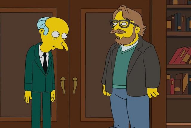 Los Simpson pintan de amarillo a Guillermo del Toro
