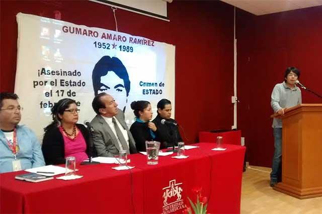 Proponen Comisión de la Verdad para caso Gumaro Amaro