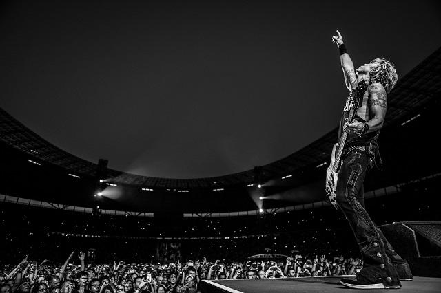 Confirman presentación de Guns N' Roses en Monterrey