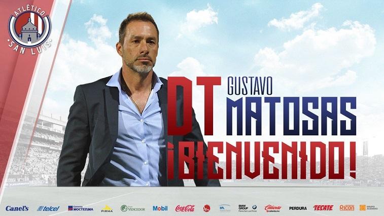 Gustavo Matosas nuevo DT del Atlético de San Luis