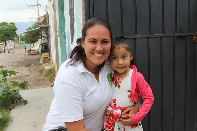 Fernanda Gutiérrez, del PVEM, por impulsar el deporte en Tehuacán
