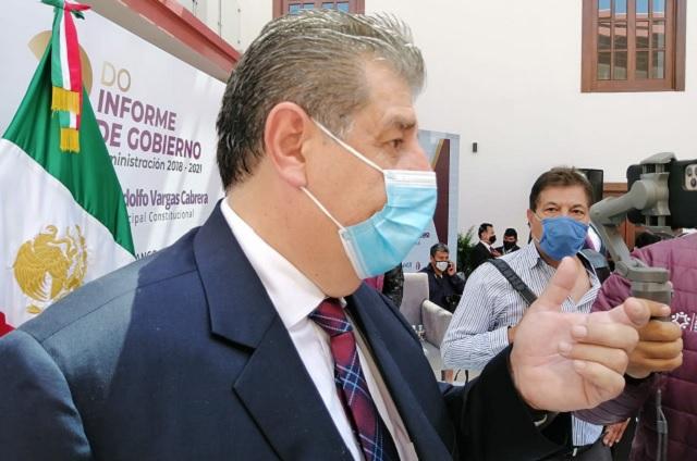 Alcalde de Huauchinango confiesa que sí padeció Covid-19