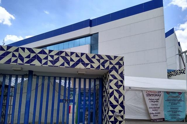 Instala Agua de Puebla 7 módulos lavamanos en hospitales Covid en Puebla