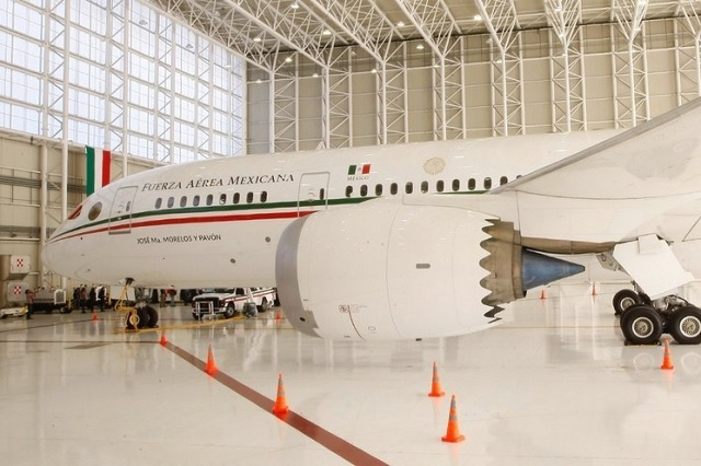 Antiguo hangar de avión presidencial ahora funciona como bodega Covid