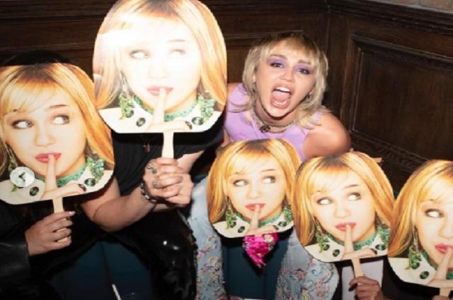 Con emotiva carta y fiesta, Miley celebra aniversario de Hannah Montana