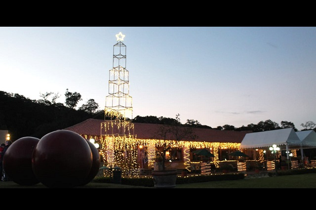 Haras Ciudad Ecológica ilumina la Navidad en Puebla