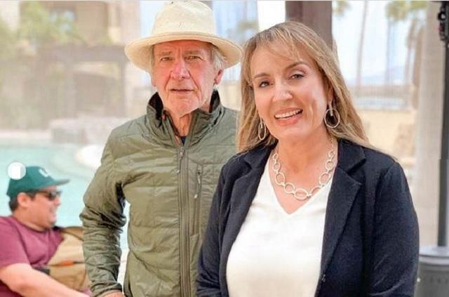 Harrison Ford viaja en bicicleta en México