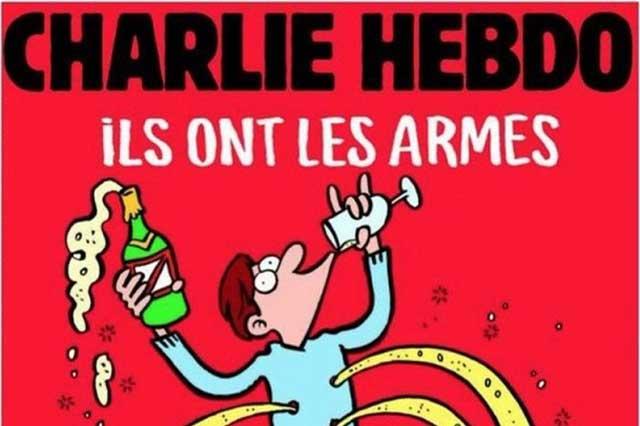 Charlie Hebdo llama a no ceder al miedo y difunde polémica portada