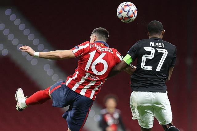 Héctor Herrera sufre una nueva lesión con el Atlético de Madrid
