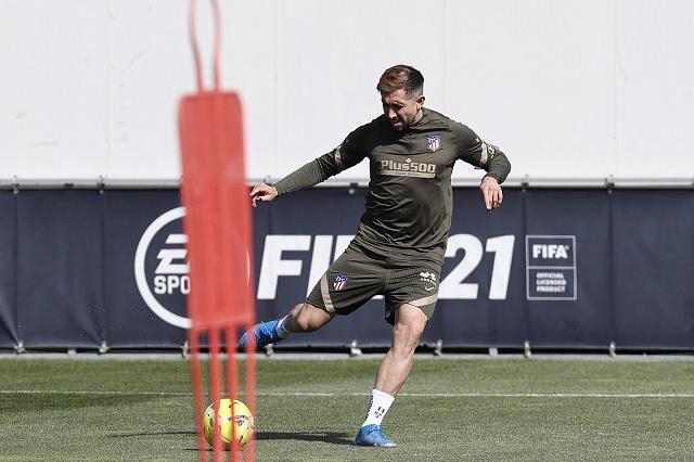 Héctor Herrera listo para regresar con el Atlético de Madrid