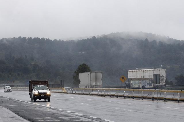 Advierten heladas para inicio de semana en Puebla