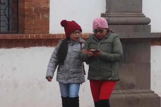 Pronostican heladas en varias regiones de Puebla