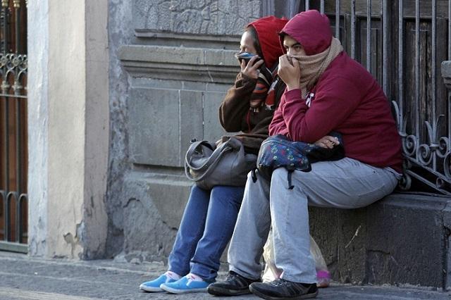 Prevén lluvias fuertes y heladas para Puebla