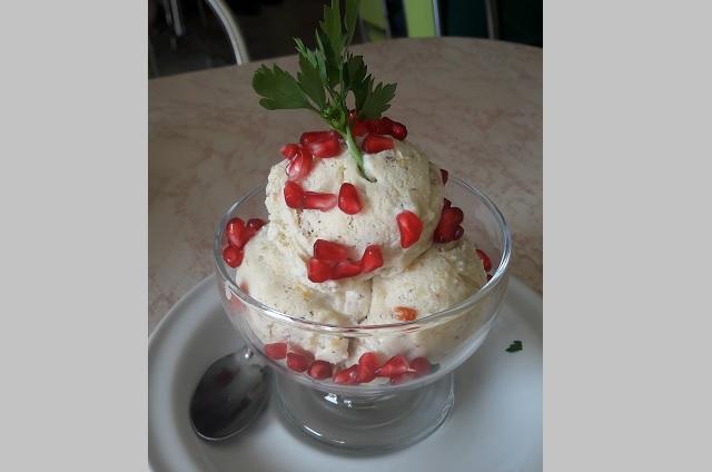 Atlixco inicia la tradicional temporada de helado en nogada