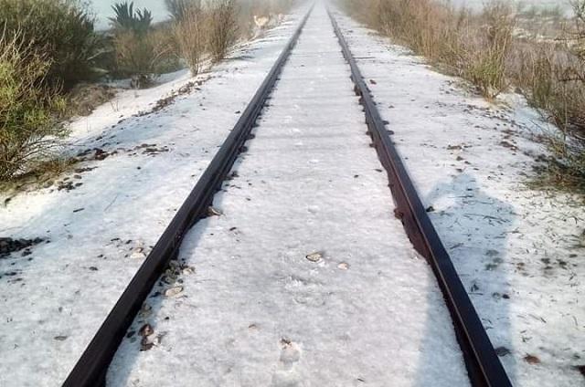 Registra región de Ciudad Serdán primera helada de la temporada invernal