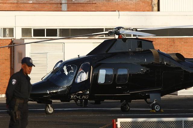 Cierran hangar por caro y guardan helicópteros en Puebla