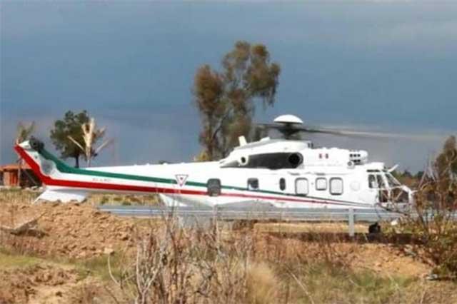 EPN congela los Súper Puma Eurocopter y se mueve en aeronaves viejas