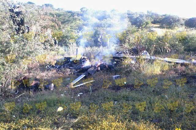 Revira gobierno de Michoacán: helicóptero no fue derribado