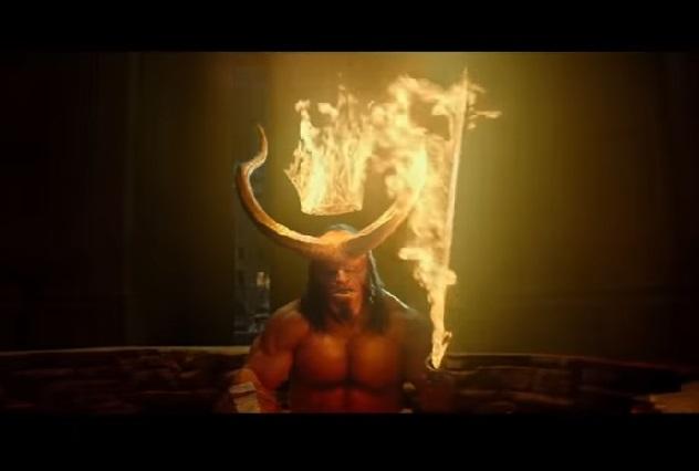 Estrenan nuevo tráiler de Hellboy que llega al cine en abril