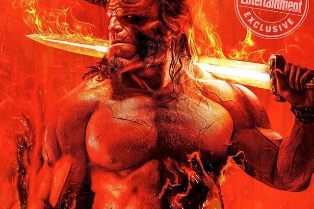Mira el nuevo póster de la próxima película de Hellboy