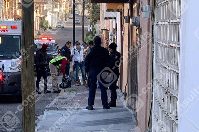 Hieren de bala a albañil en la colonia Anzures, en Puebla