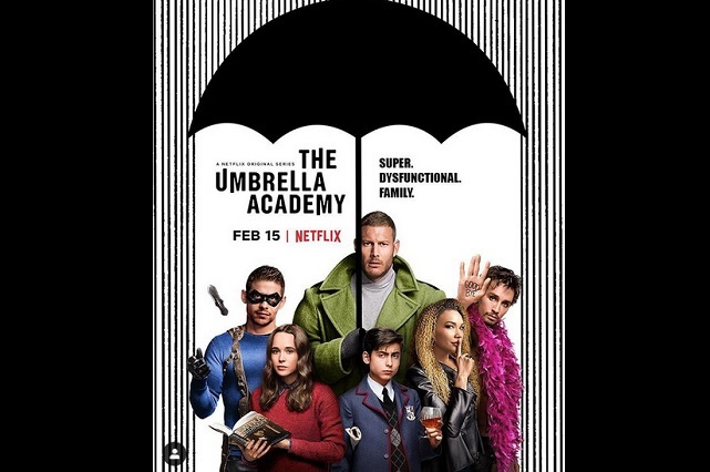 Mira los poderes de superhéroes de The Umbrella Academy