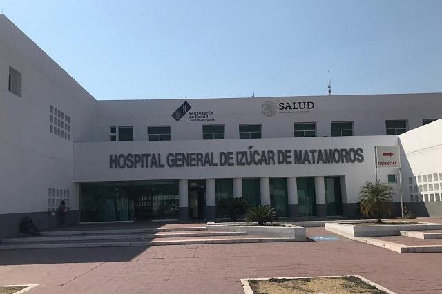 Ya son 27 defunciones por Covid-19 en el Hospital General de Izúcar
