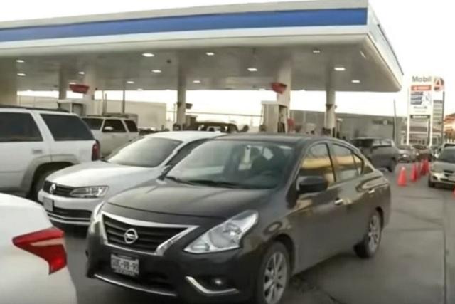 Culpan a huachicoleros de desabasto de gasolina en Monterrey