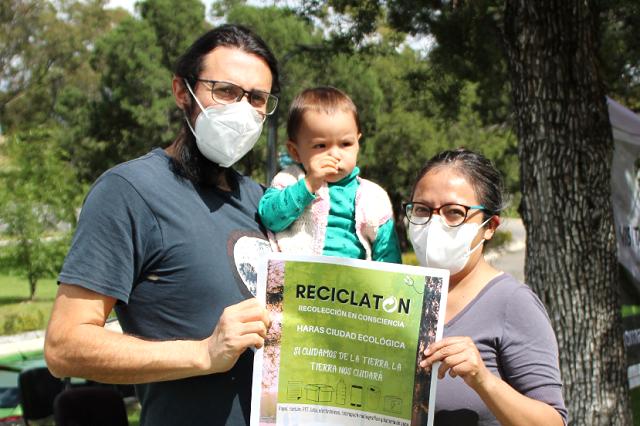 Cumple objetivo el Segundo Reciclatón en Haras Ciudad Ecológica