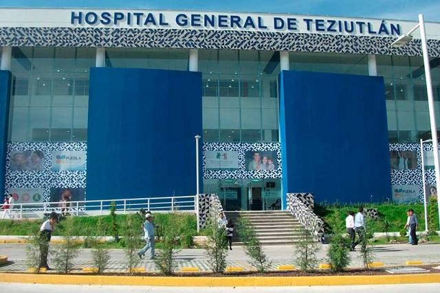 Cumplen cinco días sin agua potable en hospital covid de Teziutlán