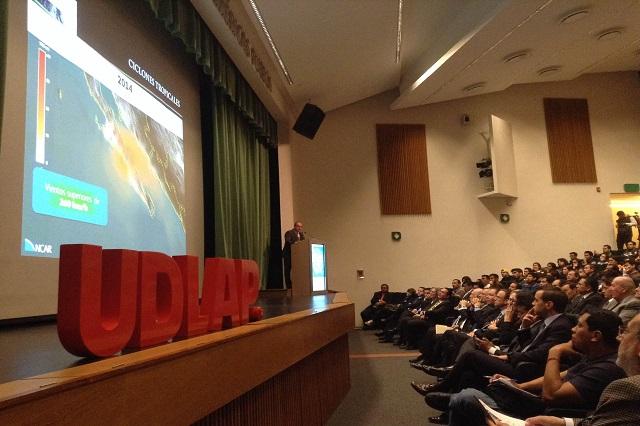Instalan Udlap y Conagua Cátedra Unesco sobre riesgos climáticos