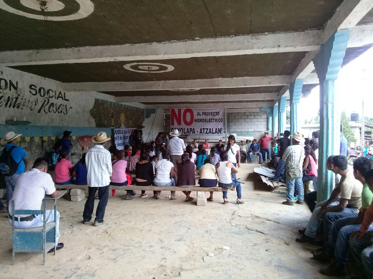 Rechazan hidroeléctrica y denuncian acoso de empresa contra pobladores