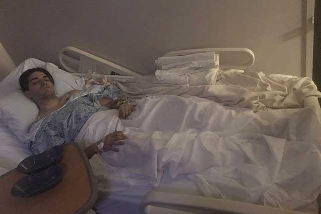 Hijo de Eduardo Yáñez es operado de emergencia