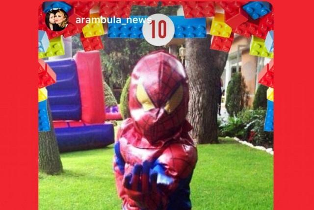 Hijo menor de Aracely Arámbula y Luis Miguel ya tiene 10 años
