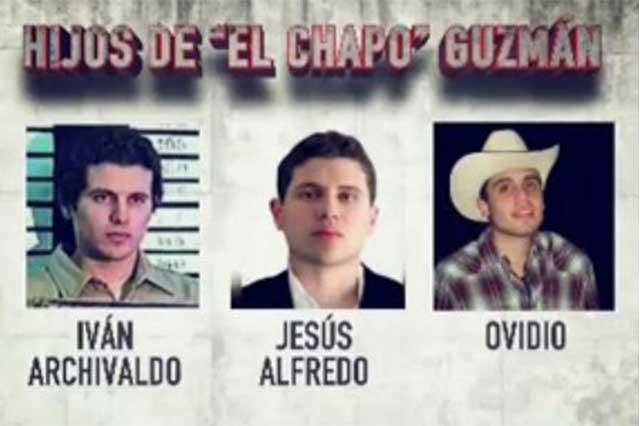 Los hijos de El Chapo envían carta y niegan haber atacado al convoy del ejército