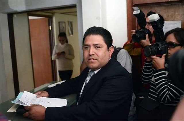 Denuncia Hilario Gallegos campaña anticipada de Alejandro Cruz Olivera