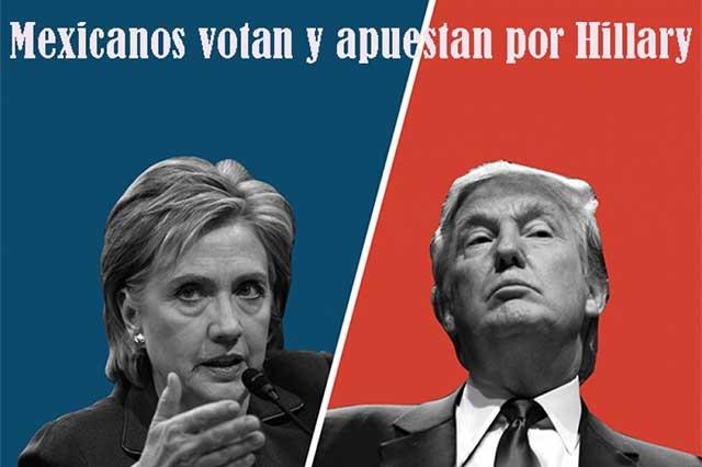 Hillary Clinton tiene el voto y esperanza de mexicanos