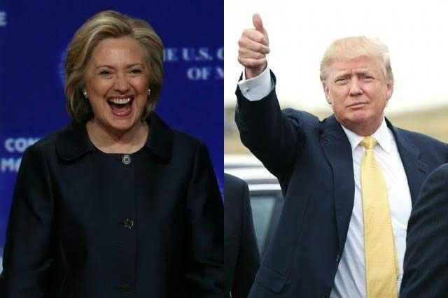 Encuesta de The New York Times le da ventaja de 3 puntos a Hillary Clinton