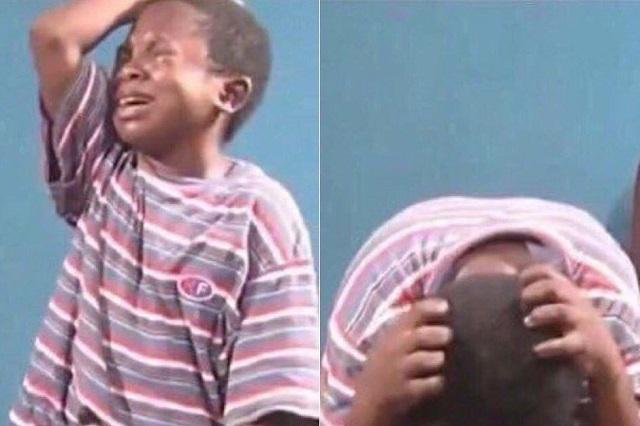 Revelan la triste historia detrás del meme del niño que llora desconsolado