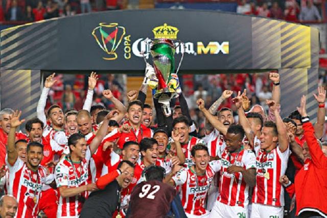 El histórico Necaxa se proclama campeón de la Copa MX