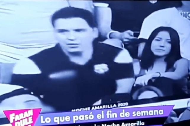 Se queda sin novia joven infiel que besó a chica en estadio y así se defiende