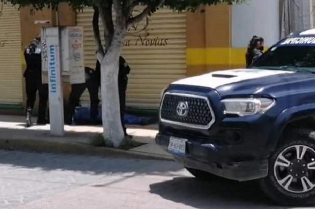 Hombre cae, se golpea la cabeza y muere, en Tehuacán