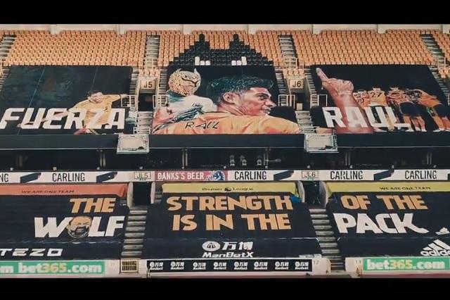Estadio Molineux de los Wolves rendirá homenaje a Raúl Jiménez