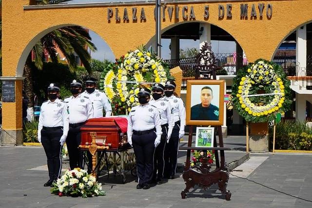 Rinden homenaje al oficial Ceferino Márquez en Xicotepec