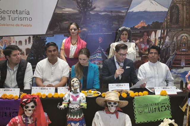 Presentan Homenaje a los muertos en el Valle de Atlixco