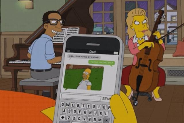 Viralizan a Homero usando su propio meme en Los Simpson
